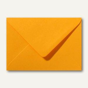 Briefumschläge 120 x 180 mm nassklebend ohne Fenster goldgelb 500St.