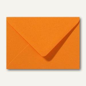 Briefumschläge 120 x 180 mm nassklebend ohne Fenster grellorange 500St.