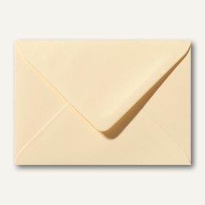 Briefumschläge 120 x 180 mm nassklebend ohne Fenster chamois 500St.