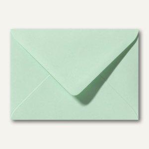 Briefumschläge 120 x 180 mm nassklebend ohne Fenster frühlingsgrün 500St.