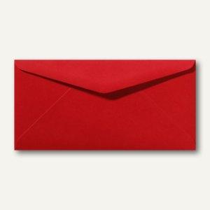 Briefumschläge 110 x 220 mm DL nassklebend ohne Fenster rosenrot 500St.