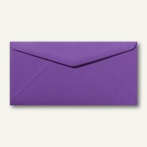 Briefumschläge 110 x 220 mm DL nassklebend ohne Fenster violett 500St.