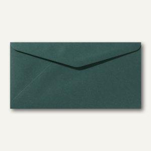 Briefumschläge 110 x 220 mm DL nassklebend ohne Fenster dunkelgrün 500St.