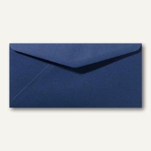 Briefumschläge 110 x 220 mm DL nassklebend ohne Fenster dunkelblau 500St.