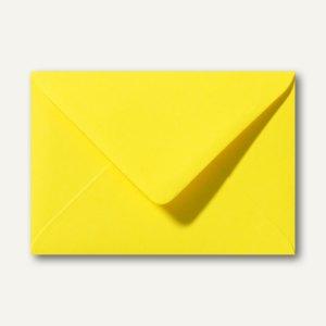 Farbige Briefumschläge 156 x 220 mm nassklebend ohne Fenster kanariengelb 500St.