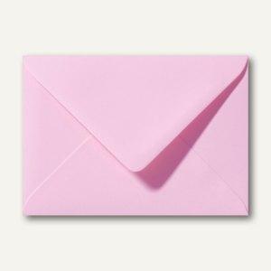 Farbige Briefumschläge 156 x 220 mm nassklebend ohne Fenster dunkelrosa 500St.