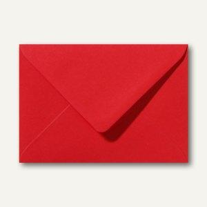 Farbige Briefumschläge 156 x 220 mm nassklebend ohne Fenster rosenrot 500St.