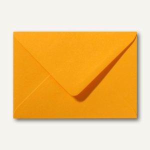 Artikelbild: Farbige Briefumschläge 156 x 220 mm nassklebend ohne Fenster goldgelb 500St.