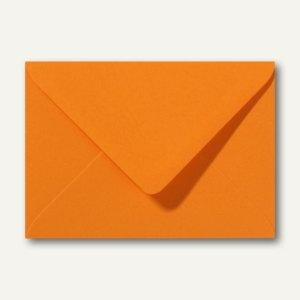 Farbige Briefumschläge 156 x 220 mm nassklebend ohne Fenster grellorange 500St.