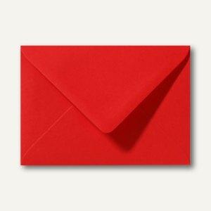 Farbige Briefumschläge 156 x 220 mm nassklebend ohne Fenster korallenrot 500St.