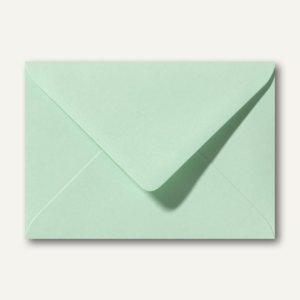 Farbige Briefumschläge 156 x 220 mm nassklebend ohne Fenster frühlingsgrün 500St.