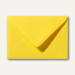 Farbige Briefumschläge 156x220mm nasskleb. ohne Fenster butterblumengelb 500St.