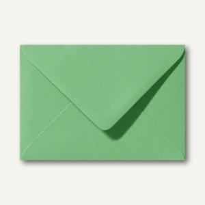 Farbige Briefumschläge 156 x 220 mm nassklebend ohne Fenster wiesengrün 500St.