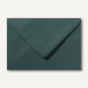 Artikelbild: Farbige Briefumschläge 156 x 220 mm nassklebend ohne Fenster dunkelgrün 500St.