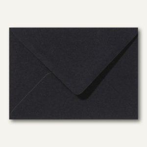 Farbige Briefumschläge 156 x 220 mm nassklebend ohne Fenster schwarz 500 St.
