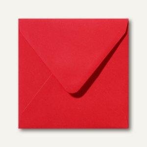 Briefumschläge 120 x 120 mm nassklebend ohne Fenster korallenrot 500St.
