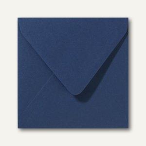 Briefumschläge 120 x 120 mm nassklebend ohne Fenster dunkelblau 500St.