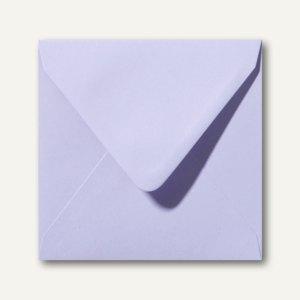 Farbige Briefumschläge 140 x 140 mm nassklebend ohne Fenster lavendel 500St.