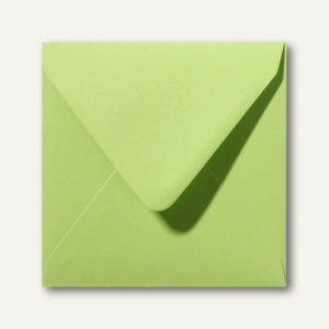 Farbige Briefumschläge 140 x 140 mm nassklebend ohne Fenster lindgrün 500St.
