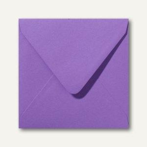 Farbige Briefumschläge 140 x 140 mm nassklebend ohne Fenster violett 500St.