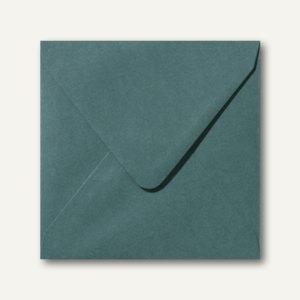 Farbige Briefumschläge 140 x 140 mm nassklebend ohne Fenster dunkelgrün 500St.