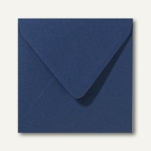 Farbige Briefumschläge 140 x 140 mm nassklebend ohne Fenster dunkelblau 500St.
