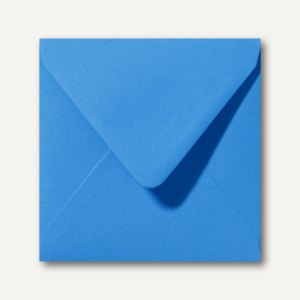 Farbige Briefumschläge 160 x 160 mm nassklebend ohne Fenster königsblau 500St.