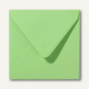 Farbige Briefumschläge 160 x 160 mm nassklebend ohne Fenster apfelgrün 500St.