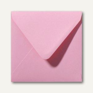 Farbige Briefumschläge 160 x 160 mm nassklebend ohne Fenster dunkelrosa 500St.