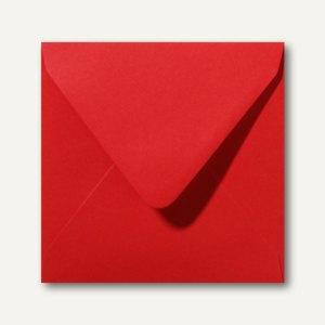 Farbige Briefumschläge 160 x 160 mm nassklebend ohne Fenster rosenrot 500St.
