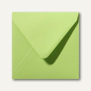 Farbige Briefumschläge 160 x 160 mm nassklebend ohne Fenster lindgrün 500St.