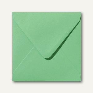 Farbige Briefumschläge 160 x 160 mm nassklebend ohne Fenster wiesengrün 500St.