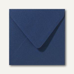 Farbige Briefumschläge 160 x 160 mm nassklebend ohne Fenster dunkelblau 500St.