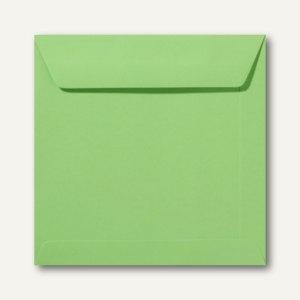 Farbige Briefumschläge 190 x 190 mm nassklebend ohne Fenster apfelgrün 500St.