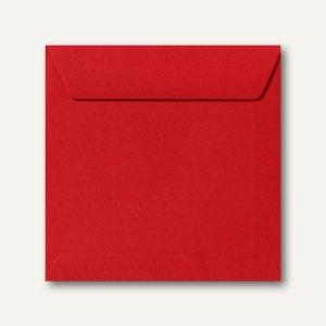 Farbige Briefumschläge 190 x 190 mm nassklebend ohne Fenster rosenrot 500St.
