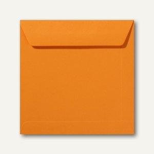 Farbige Briefumschläge 190 x 190 mm nassklebend ohne Fenster grellorange 500St.
