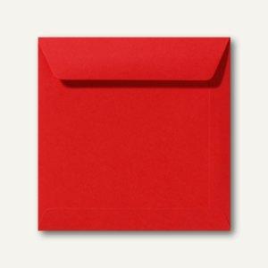 Farbige Briefumschläge 190 x 190 mm nassklebend ohne Fenster korallenrot 500St.