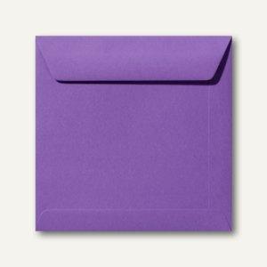 Farbige Briefumschläge 190 x 190 mm nassklebend ohne Fenster violett 500St.
