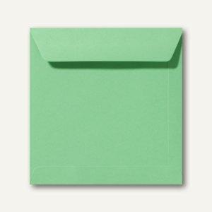 Farbige Briefumschläge 190 x 190 mm nassklebend ohne Fenster wiesengrün 500St.