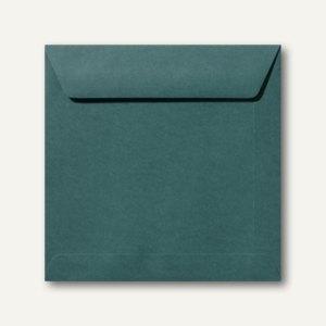 Farbige Briefumschläge 190 x 190 mm nassklebend ohne Fenster dunkelgrün 500St.