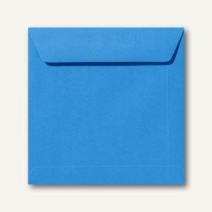 Farbige Briefumschläge 220 x 220 mm nassklebend ohne Fenster königsblau
