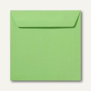 Farbige Briefumschläge 220 x 220 mm nassklebend ohne Fenster apfelgrün 500St.