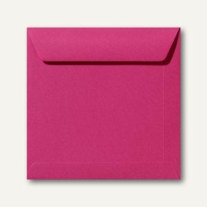 Farbige Briefumschläge 220 x 220 mm nassklebend ohne Fenster fuchsie 500St.