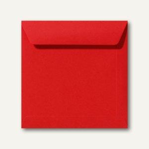 Farbige Briefumschläge 220 x 220 mm nassklebend ohne Fenster korallenrot 500St.