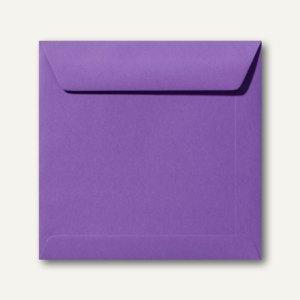 Farbige Briefumschläge 220 x 220 mm nassklebend ohne Fenster violett 500St.