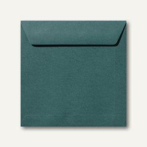 Farbige Briefumschläge 220 x 220 mm nassklebend ohne Fenster dunkelgrün 500St.