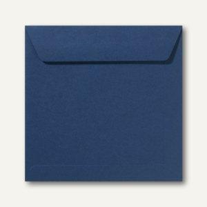 Farbige Briefumschläge 220 x 220 mm nassklebend ohne Fenster dunkelblau 500St.