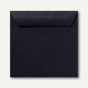 Farbige Briefumschläge 220 x 220 mm nassklebend ohne Fenster schwarz 500St.