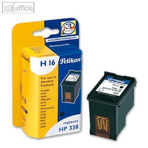 Pelikan H16 Tintenpatrone für HP No. 338, schwarz, 351555