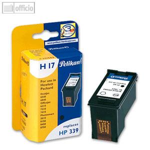 Pelikan H17 Tintenpatrone für HP No. 339, schwarz, 351562